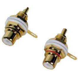 RCA socket – pair